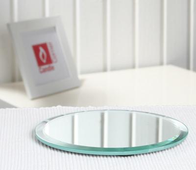 spiegelfliese rund klein mit facettenschliff 12 5 cm. Black Bedroom Furniture Sets. Home Design Ideas