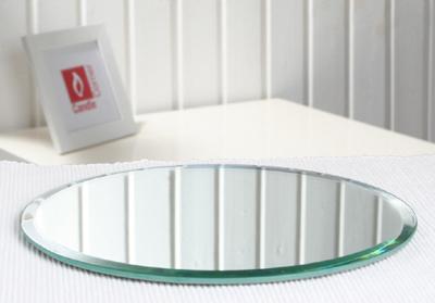 spiegelfliese rund gro mit facettenschliff 20 0 cm. Black Bedroom Furniture Sets. Home Design Ideas
