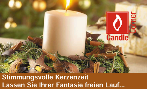 Stumpenkerzen 10 Cm Durchmesser Candle Corner